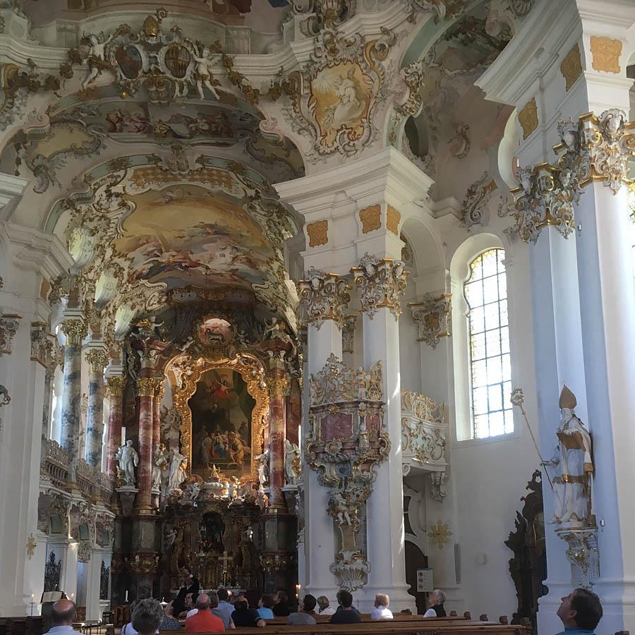 Wieskirche Gottesdienst